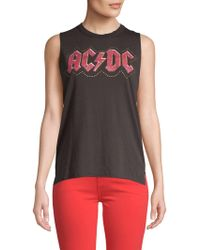 Lucky Brand - Graphic Jersey Tank Top - Lyst
