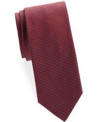 Brioni - Pin Dot Silk Tie - Lyst