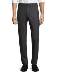 Theory - Gearheart Zaine Flat Front Dress Trousers - Lyst