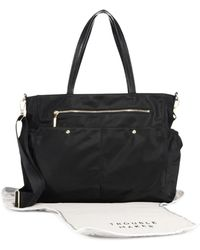 MILLY - Solid Diaper Bag - Lyst
