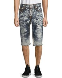 True Religion - Straight-leg Cut-off Shorts - Lyst