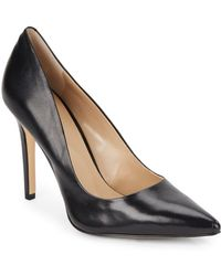 Saks Fifth Avenue - Cathy Leather Pumps - Lyst