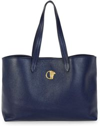Versace - Medusa Leather Tote - Lyst