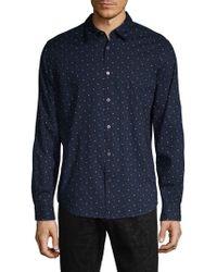 John Varvatos - Mayfield Slim-fit Print Shirt - Lyst