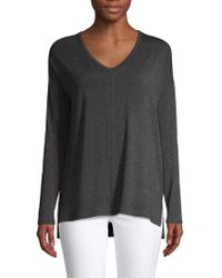 Saks Fifth Avenue - V-neck High-low Tunic - Lyst