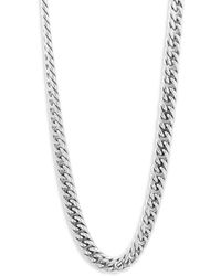 Perepaix - Sterling Silver Chain Necklace - Lyst