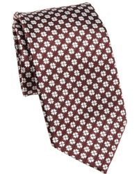 Saks Fifth Avenue - Collection Patterned Silk Tie - Lyst