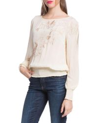 Plenty by Tracy Reese - Slit Sleeve Blouse - Lyst
