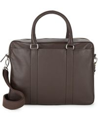 Cole Haan - Leather Laptop Bag - Lyst