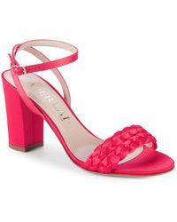 Aperlai - Braided Heel Sandals - Lyst