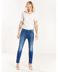 Mother Denim - Mother Double Fray Charmer - Lyst