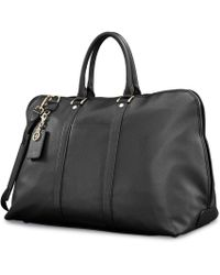 Samsonite - Ladies Leather Weekender - Lyst