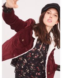 Sanctuary Clothing - Freedom Fuzzy Trucker Jacket - Lyst