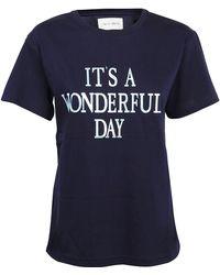 Alberta Ferretti - T-shirt - Lyst