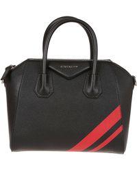 46d8c4da380d Lyst - Givenchy Antigona Large Coated Canvas Shopping Tote Bag in Black