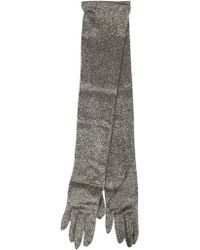 Dries Van Noten | Glittery Gloves | Lyst