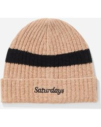 Saturdays NYC - Plush Beanie - Lyst