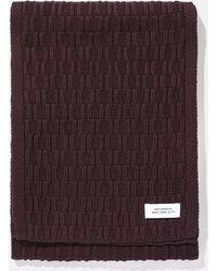 Saturdays NYC - Staggered Knit Scarf - Lyst