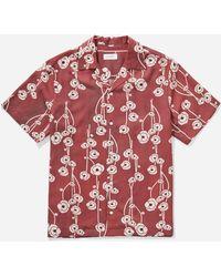 Saturdays NYC - Canty Poppy Shirt - Lyst