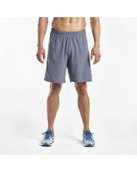 "Saucony - Interval 9"" 2-1 Short - Lyst"