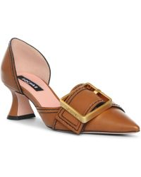 Rochas - Buckle Detail Court Shoes - Lyst