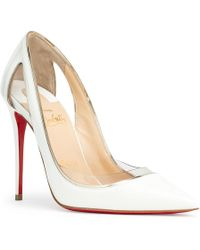 Christian Louboutin - Cosmo 554 Patent Leather Pumps - Lyst