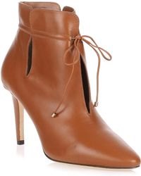 Jimmy Choo - Murphy Tan Leather Ankle Boot - Lyst