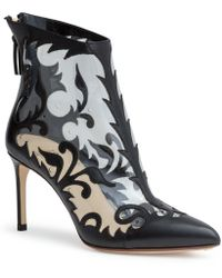 Francesco Russo - Black 75 Embroided Pvc Boots - Lyst