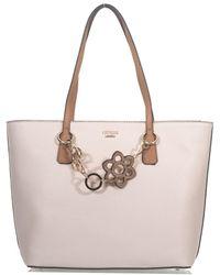 Guess - Dania Bi-material Bag - Lyst