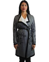 ESCADA - Longline Wool-Blend Cardigan - Lyst
