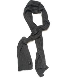 Refrigue - Large Ribbed Scarf - Lyst