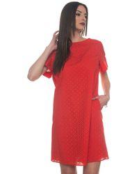 Blue Les Copains - Tunic Dress - Lyst