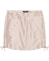 Scotch & Soda - Shiny Safari Skirt - Lyst