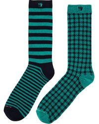 Scotch & Soda - 2-pack Patterned Socks - Lyst