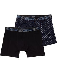 Scotch & Soda - 2-pack Patterned Boxer Shorts - Lyst