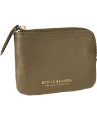Scotch & Soda - Leather Coin Wallet - Lyst