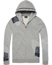 Scotch & Soda - Worked-out Hoodie - Lyst