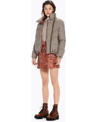 Scotch & Soda - Asymmetric Wrap Skirt - Lyst