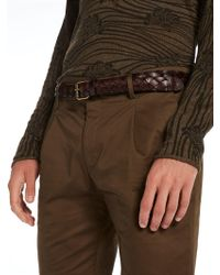 Scotch & Soda - Braided Leather Belt - Lyst