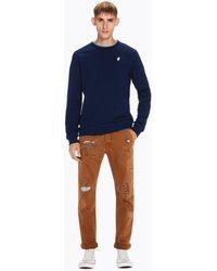 Scotch & Soda - Garment Dyed Sweater - Lyst