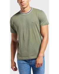 Lacoste - Tipped Ringer Short Sleeve T-shirt - Lyst