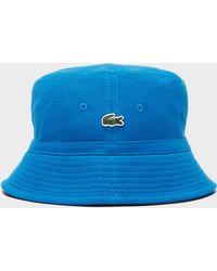 Lacoste - Pique Bucket Hat - Lyst