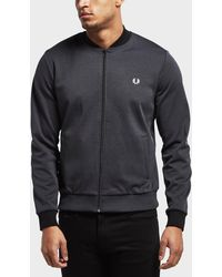 Fred Perry - Tipped Bomber Track Top - Online Exclusive - Lyst