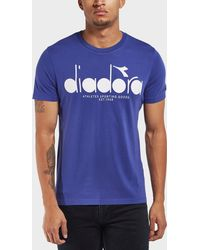Diadora - Short Sleeve T-shirt - Lyst
