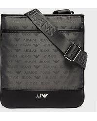 Armani Jeans   Nylon Small Item Bag   Lyst