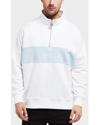 Penfield - Mens Hosmer Half Zip Sweatshirt White - Lyst