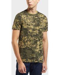 Lyle & Scott - Moss Print Short Sleeve T-shirt - Lyst