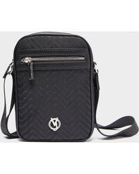 Versace Jeans - Chevron Logo Print Small Item Bag - Lyst 52c459085c5f9