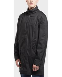 c467e74aa648 Fred Perry Mens Mac Lightweight Jacket Black in Black for Men - Lyst