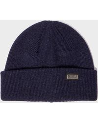 Barbour Whitfield Beanie Hat in Gray for Men - Lyst b1314b2db09